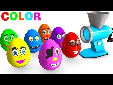 Thumbnail: Learn Colors for Kids and Cars w Superhero Surprise Eggs Learning Video - Color for Children