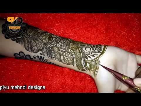 Eid Special Mehndi Design For Full Haathphool | The MOST Beautiful Ramadan Mahendi 2018