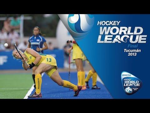 Australia v China - Women Hockey World League 2013 [01/12/2013]