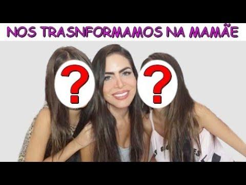 NOS TRANSFORMAMOS NA MAMÃE