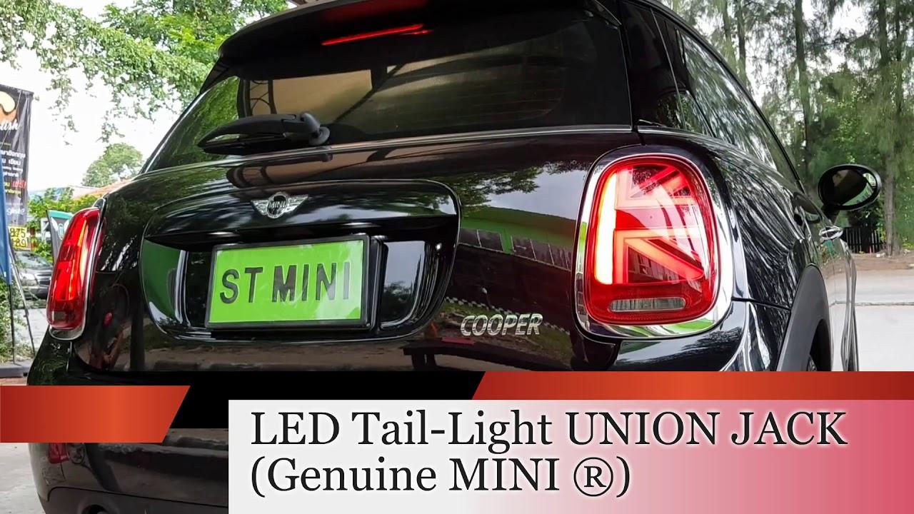 (ST MINI) F56 COOPER LED Tail-Light UNION JACK (Genuine MINI ®)