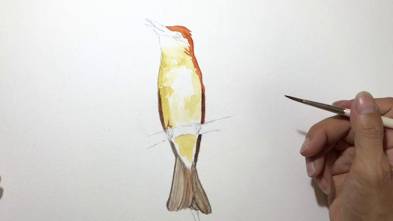 Cách vẽ tranh màu nước đơn giản mà hiệu quả