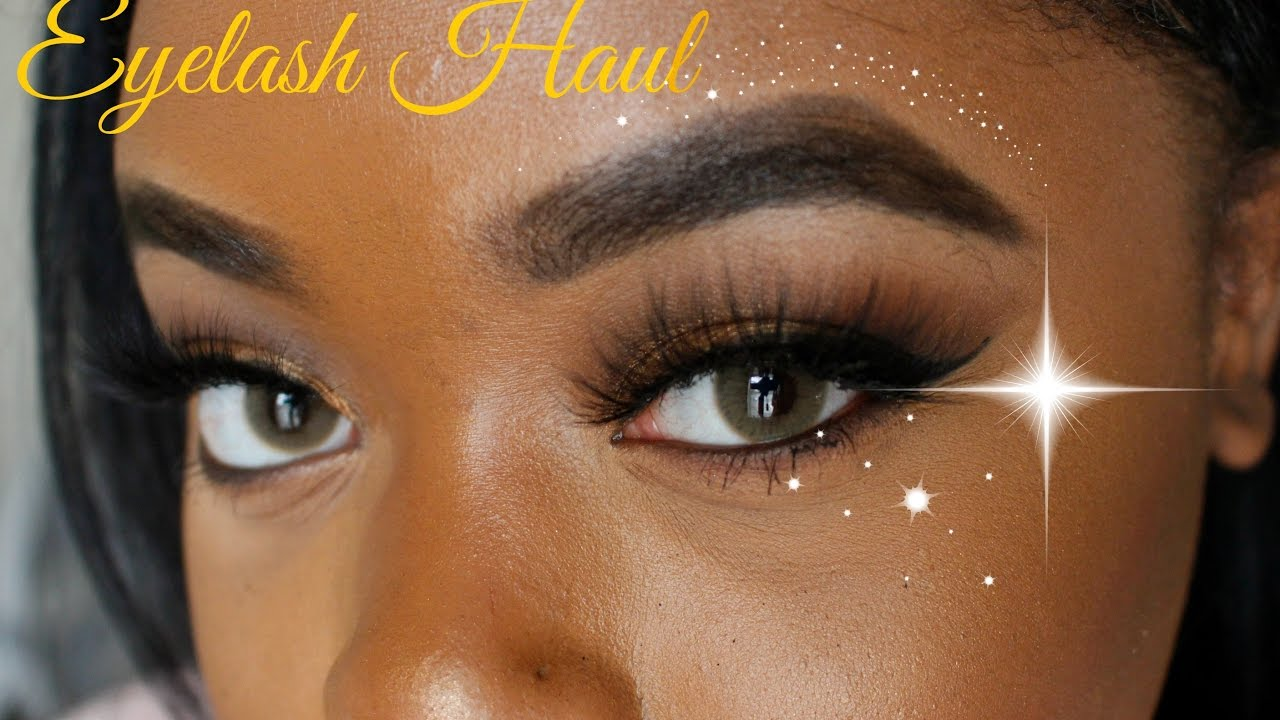 2 Mink Eyelashes What Eyelash Haul Youtube