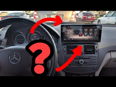 the most common mercedes android screen questions youtube. Black Bedroom Furniture Sets. Home Design Ideas