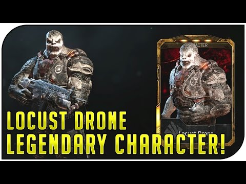 "Gears of War 4 Multiplayer - 15-4 DESTRUCTION! ""Locust Drone"" (Legendary Character Gameplay)"