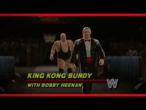 King Kong Bundy WWE 2K14 Entrance and Finisher (Official)