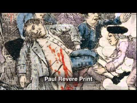 paul revere plagiarized boston massacre print youtube