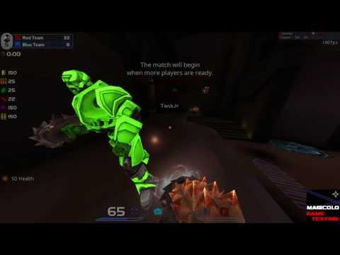 Quake Live TEST 1 video for QuakeCon 2016