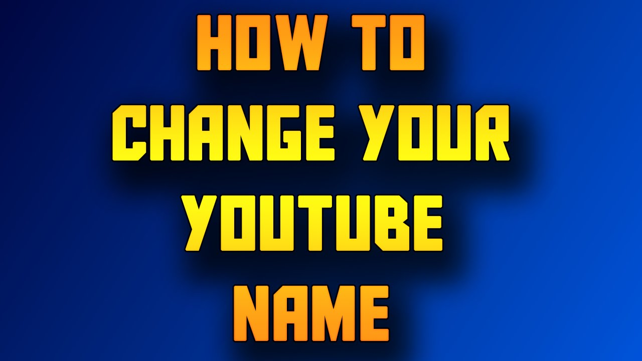 how to change the name of your iphone how to change your channel name without spaces 20759