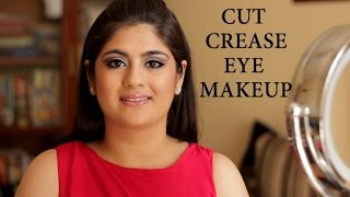 Cut Crease Eye makeup Tutorial Thumbnail