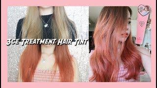 3CE Treatment Hair Tint 💘 BABY PINK (Eng Subs) | Erna Limdaugh