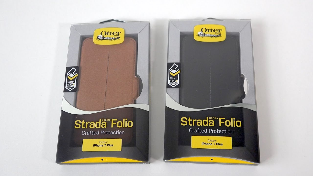 first rate 7eb8c 489d9 OtterBox Strada Series Folio Case for iPhone 7 Plus