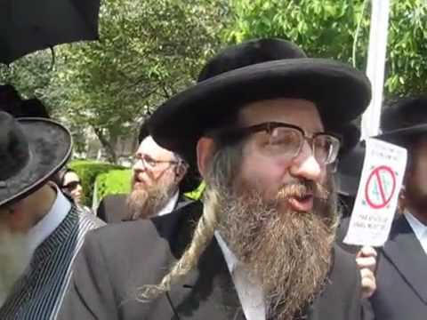 Netanyahu is NOT welcomed by the Jewish people - YouTube