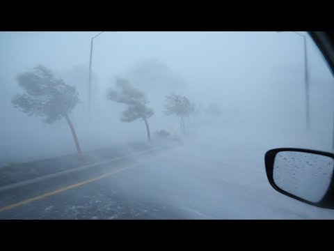 Extreme Wind and Flying Debris in Hurricane Florence Eyewall