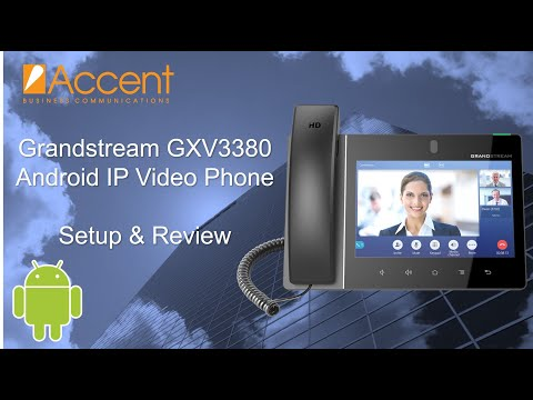 grandstream-gxv3380-android-ip-video-phone-review,-setup,-and-walkthrough