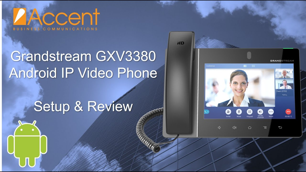 Grandstream GXV3380 Android IP Video Phone Review, Setup, and Walkthrough