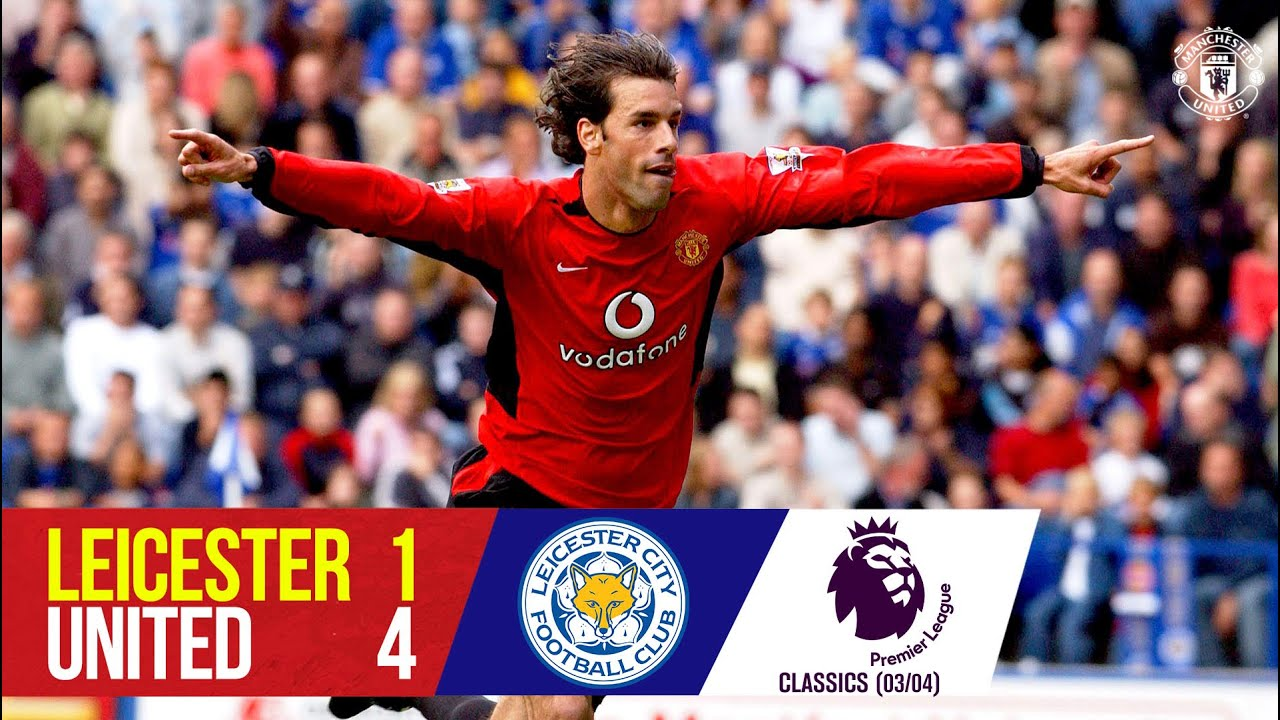 Download Van Nistelrooy hat-trick sinks the Foxes | Leicester City 1-4 Manchester United (03/04) | Classics