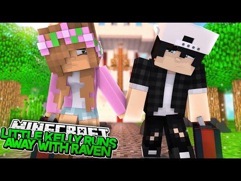 LITTLE KELLY RUNS AWAY WITH RAVEN! Minecraft Royal Family   w/LittleCarly & Leo   Custom Roleplay - Видео из Майнкрафт (Minecraft)