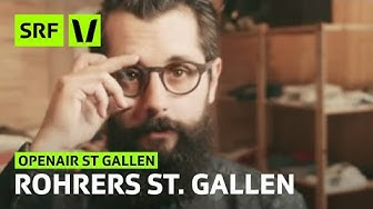Openair St. Gallen: Andi Rohrer stellt St. Gallen vor | Festivalsommer 2015 | SRF Virus