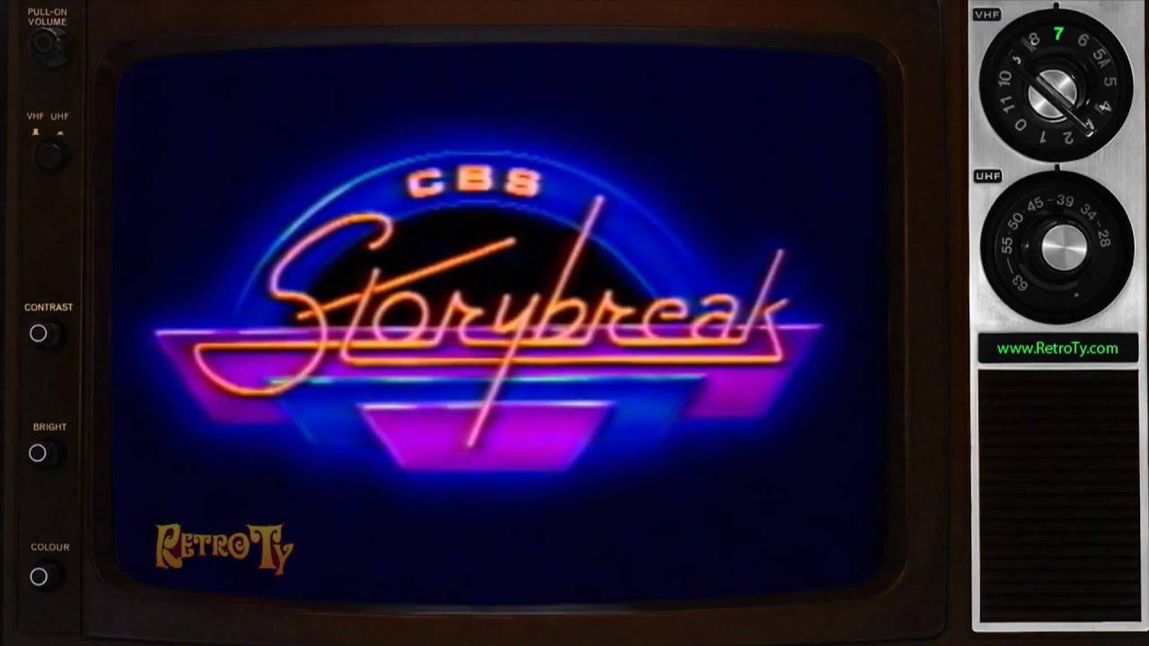 1985  Cbs Storybreak Intro & Bumper
