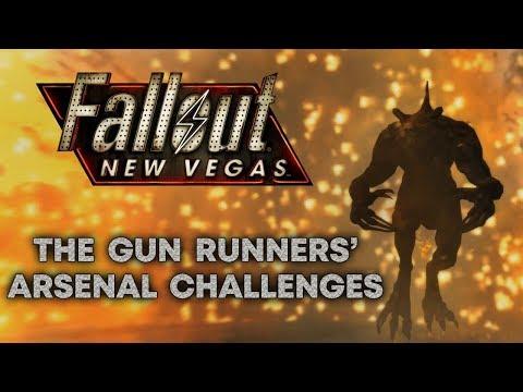 Fallout: New Vegas - The Gun Runners' Arsenal Challenges