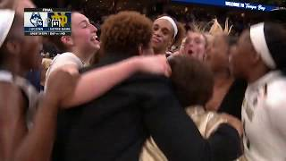 Highlights: Notre Dame takes down UConn in Women's Final Four