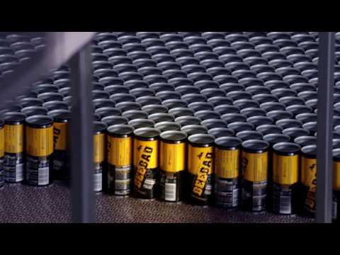 BEEBAD Energy Drink production line Italy - www.beebad.com