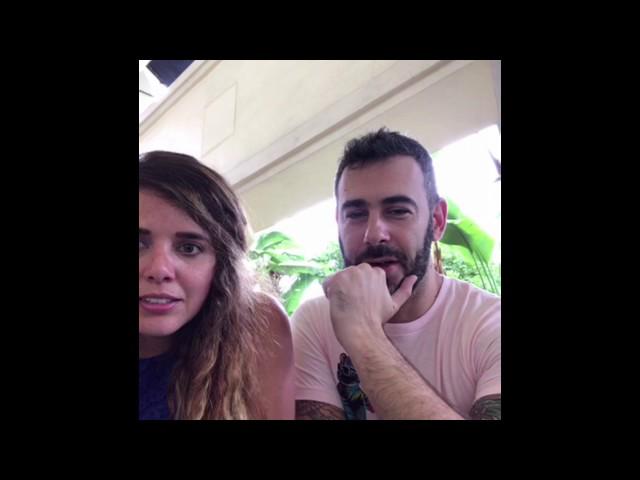 Derek Schwartz and Sonia Granados Instagram Live PT. 1 6/3/2017