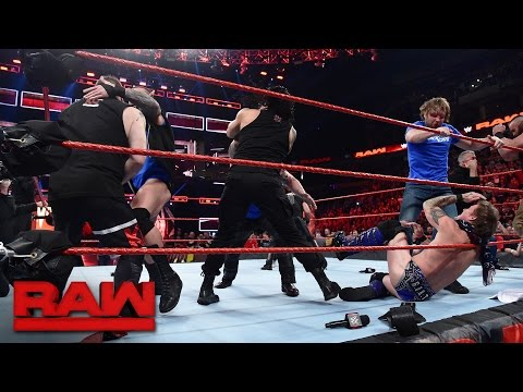 SmackDown LIVE Superstars invade Raw: Raw, Nov. 14, 2016