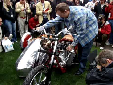 Jesse James Custom Bike For Airstream At 2008 Legend Of The