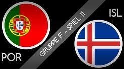 EURO 2016 - Prognose : Gruppe F - Spiel 11 : Portugal - Island : 2. Halbzeit