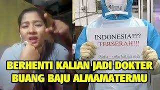 Perempuan Padang ini Semprot dan Sindir Habis, Tenaga Medis (Indonesia Terserah Kalian)