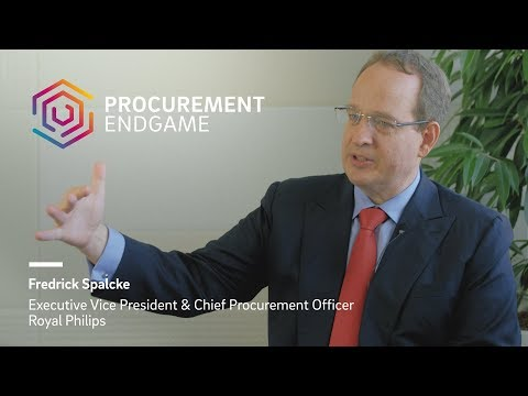 Fredrick Spalcke (Royal Philips) on The Procurement Endgame