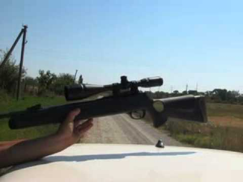 Hatsan 125 стрельба на 100 метров
