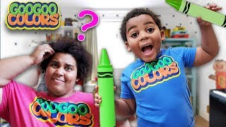 Mom Is This Big or Small?  (Learn About Size Comparisons with Goo Goo Colors)