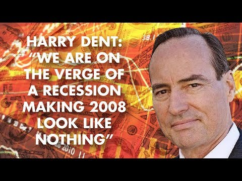 "Harry Dent – ""We Are On The Verge Of A Recession Making 2008 Look Like Nothing"""