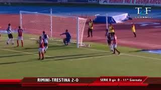 Serie D Girone D Rimini-Trestina 2-0