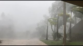 Hurricane Maria in Puerto Rico - Eyewall Winds, Drone Footage Before and After, and Aftermath
