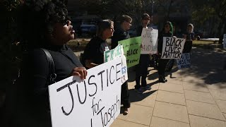 Black Lives Matter holds day-long protest in response to David Joseph shooting
