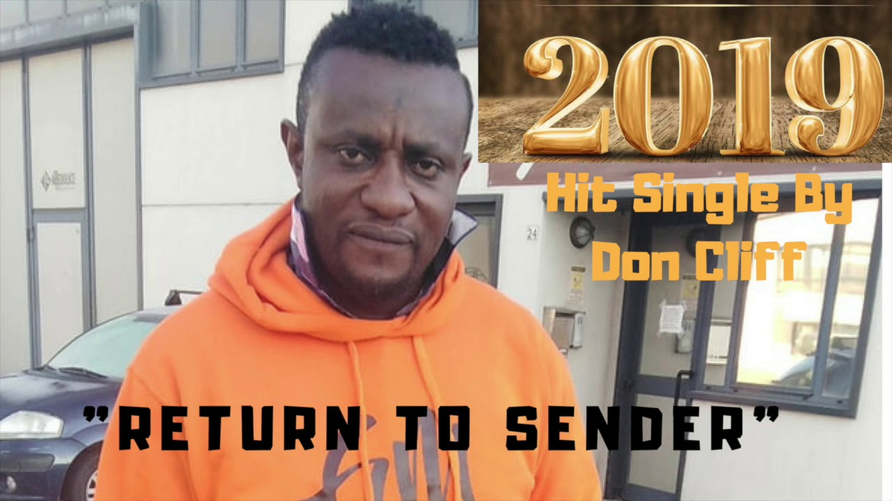 Download Don Cliff Return to Sender Single 2019