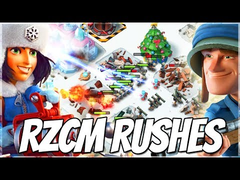 Boom Beach RZCM Attacks!! The Lost Troop!