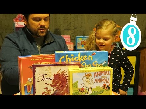 TOP 5 BOARD GAMES FOR FAMILIES WITH YOUNG KIDS, a Gift Guide and Toy Review - December 7, 2016