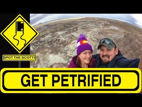 SpotTheScotts: Petrified Forest National Park! RV LIFE & Travel {#153}