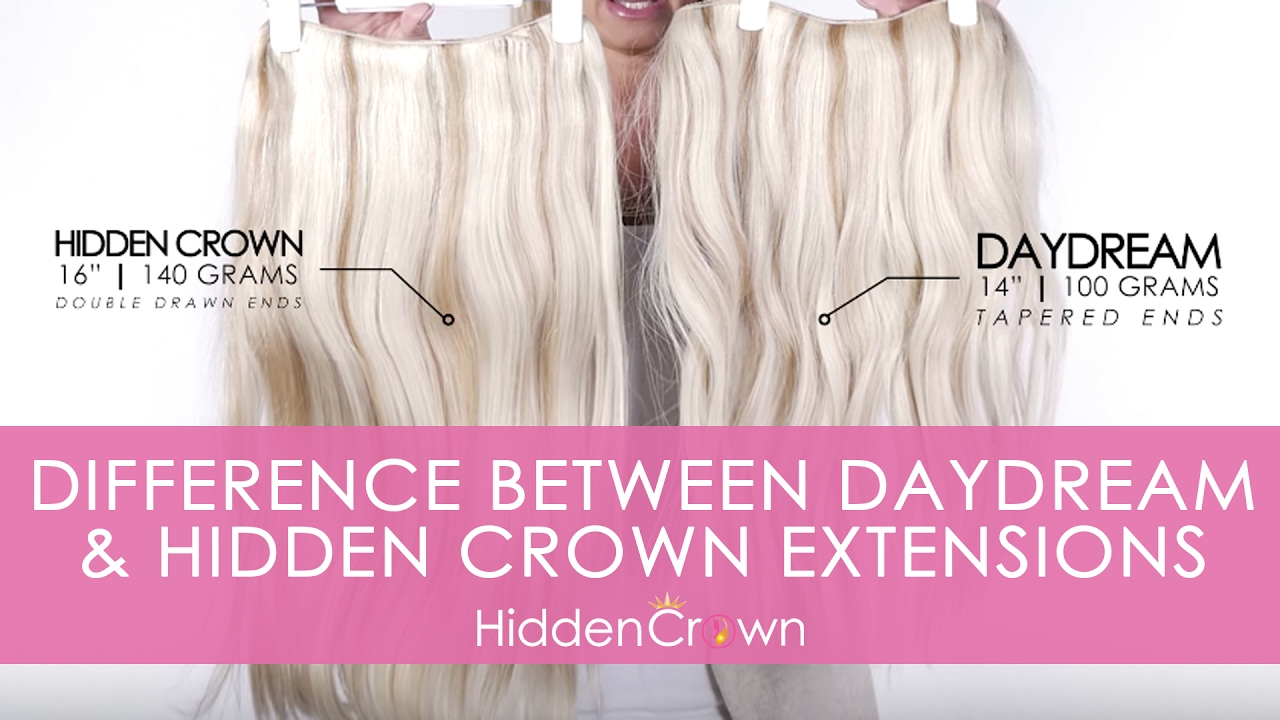 The difference between daydream hidden crown hair extensions the difference between daydream hidden crown hair extensions pmusecretfo Gallery