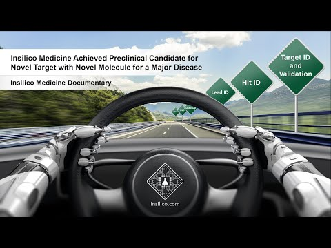 Insilico Medicine Achieves Industry First Nominating Preclinical...