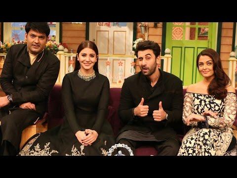 The Kapil Sharma Show - Diwali Special - Ae Dil Hai Mushkil - Ranbir Kapoor , Aishwarya Rai
