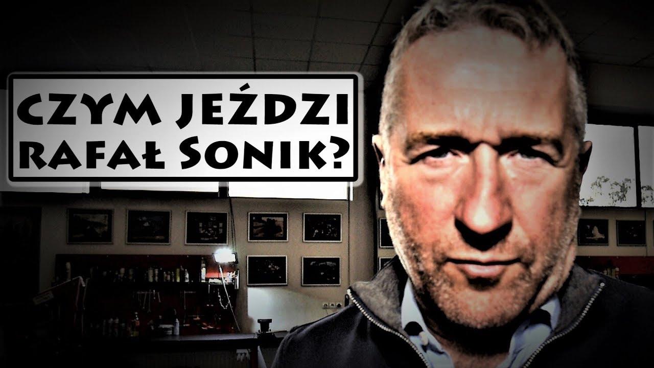 Czym jeździ Rafał Sonik? UWAGA: Te maszyny robią wrażenie!  [GWIAZDY I ICH POJAZDY #12]