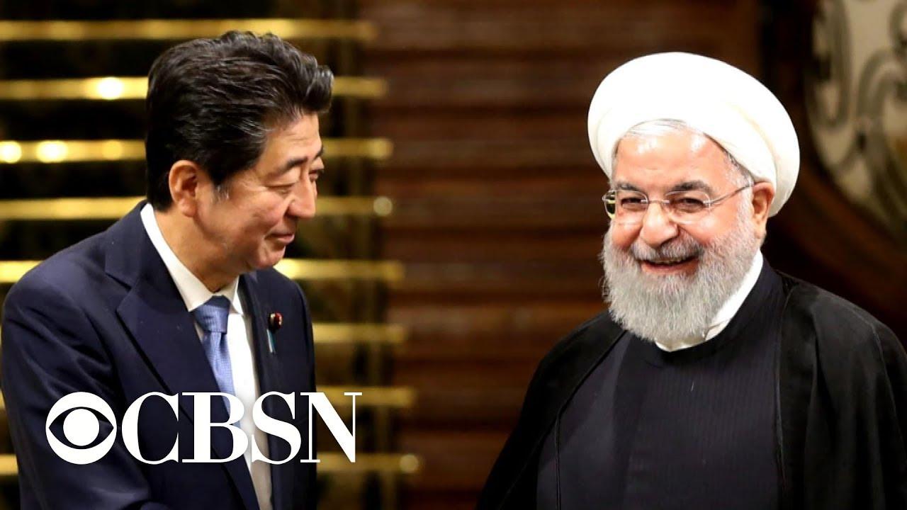 Japanese Prime Minister Shinzo Abe visits Iran