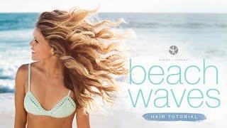 Beach Waves Hair Tutorial!! ☀️