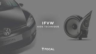 Installer le Kit Focal Intégration IFVW Golf 6 dédié à la Volkswagen Golf 6